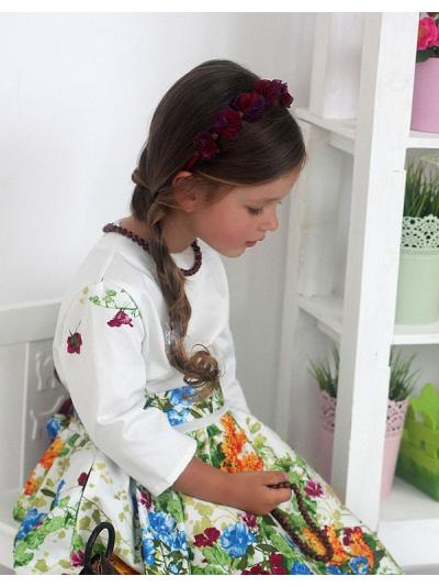 Платье Summer Flower k4k Krasivo4kids